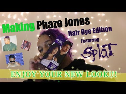 DYING MY HAIR PURPLE! [MAKING PHAZE JONES Ep. 2]