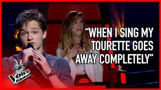 Guy with Tourette WOWS The Voice coaches | The Voice Global