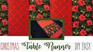 Christmas Table Runner (DIY/EASY/CHEAP)