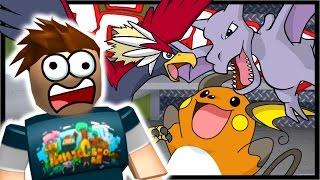 Braviary  - (Pokémon) - AERODACTYL & BRAVIARY BEAT DOWN!! | Roblox Pokemon Brick Bronze | Ep 13