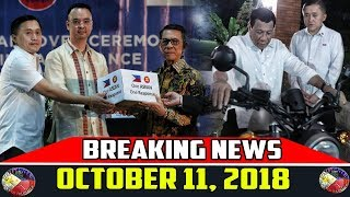 BREAKING NEWS OCTOBER 11 2018 | DUTERTE | FREDDIE AGUILAR | DOC. WILLIE ONG | HEART RELIC