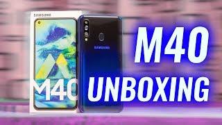 Samsung Galaxy M40 Unboxing & Google Camera Demo!