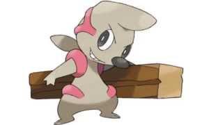 Timburr  - (Pokémon) - Pokemon Cries - Timburr   Gurdurr   Conkeldurr
