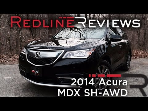 2014 Acura MDX SH-AWD – Redline: Review