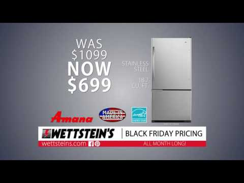 Black Friday Specials Amana Stainless Steel Fridge