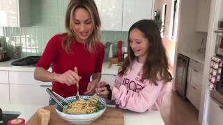 Giada Makes Anchovy & Walnut Linguine With Authentic Italian Products