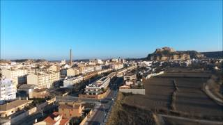 preview picture of video 'Monzon (Huesca) - Vista aerea'