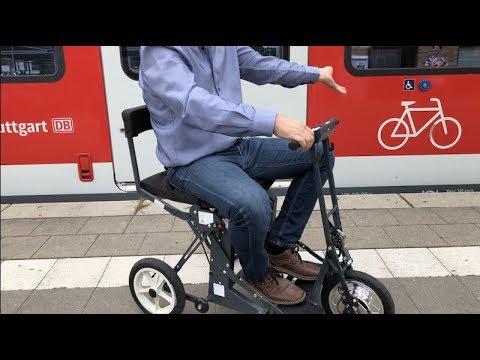 Falt Rollstuhl Reise Scooter Luftfederung