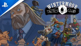 Wintermoor Tactics Club - Launch Trailer | PS4