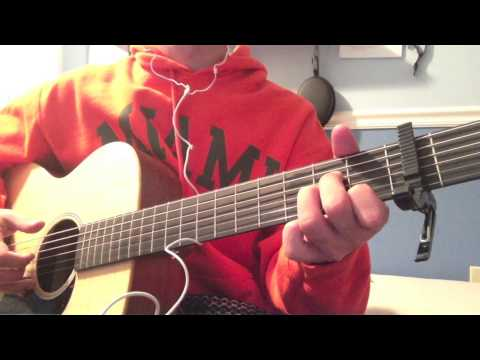 Hillsong UNITED Oceans (Where Feet My Fail) Acoustic Guitar Cover (CHORDS IN DESCRIPTION!)