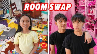 SWAPPING BEDROOMS With Our Little Sister! (BAD IDEA)