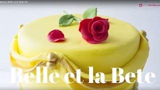 Gâteau La Belle Et La Bête | Beauty And The Beast Disney Cake