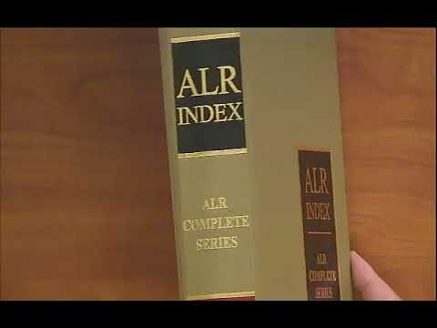 ALR-American Law Reports