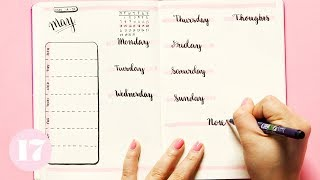 Bullet Journal Weekly Spread Ideas | Plan With Me