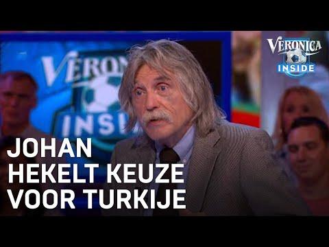 Johan hekelt keuze voor Turkije: 'Kutland' | VERONICA INSIDE