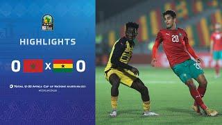 CAN U20 2021 | Groupe C : Maroc 0-0 Ghana