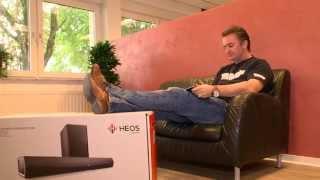 Die HEOS Soundbar von DENON - maximaler Klang für Ihren Flachbildfernseher