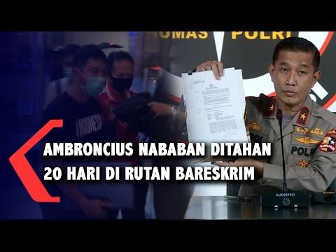 Tersangka Kasus Rasisme, Ambroncius Nababan Ditahan Penyidik Bareskrim!
