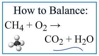 CH4 + O2 = CO2  +  H2O |  Balanced Equation (Methane Combustion Reaction)
