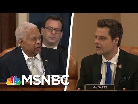 Rep. Hank Johnson: Rep. Gaetz 'Pot Calling Kettle Black' Bringing Up Hunter Biden's DUI | MSNBC