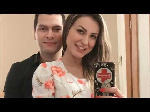 Andressa Urach e Thiago Lopes se casam em Santa Catarina