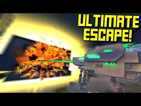 The Best Escape Room In Scrap Mechanic? - Scrap Mechanic Challenge Mode