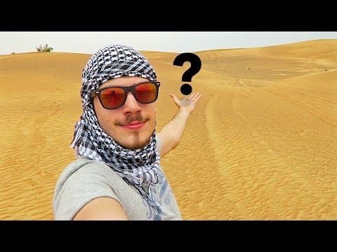 Zabudli ma v strede púšte! - DUBAJ VLOG (Final part)