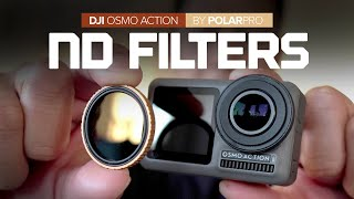 ND Filters for the DJI Osmo Action by PolarPro - Vivid Collection