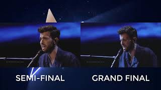 Duncan Laurence - Arcade - Semifinal Vs Final (The Netherlands Eurovision 2019)