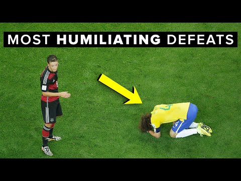 Humiliating football results that will NEVER be forgotten