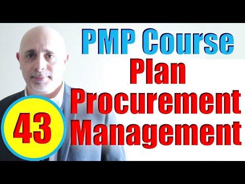 Plan Procurement Management Process   Full PMP Exam Prep ...