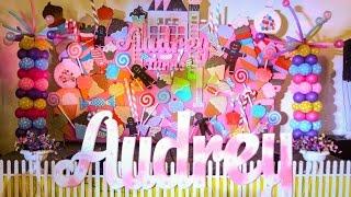 Audreys Candyland 1st Birthday At The Pavillion