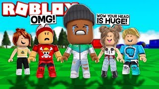 THE BIGGEST HEAD IN ROBLOX EVER!! (Size = 1,000,000)