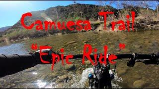 Shredding Camuesa Trail with Friends Feb 2021