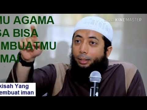 Ilmu Agama bisa membuatmu damai ( Ustadz Khalid Basalamah)