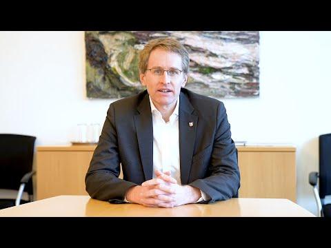 Ministerpräsident Günther zum Corona-Stufenplan