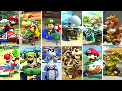 Mario Kart 8 Deluxe - All 12 Cups (200cc)