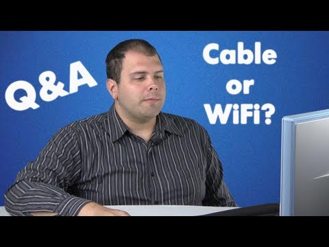 Connecting your Smart TV to the Internet, WIFI vs wire