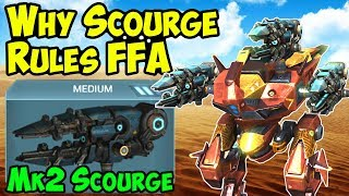War Robots - Why Scourge Dominates Free For All - Mk2 WR Gameplay