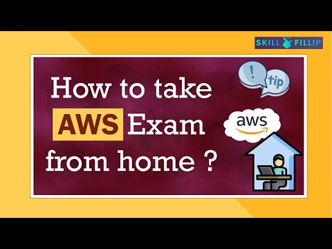How to take AWS Exam from home? | Exam policies, System pre ...