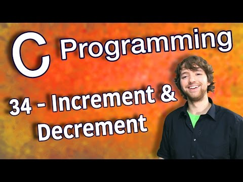 C Programming Tutorial 34 – Increment and Decrement Operators