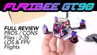 FuriBee GT90 Fire Dancer Mini FPV Racing Drone - NOT BAD! - Full Review