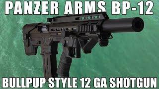 The 12 Gauge Bullpup Shotgun You