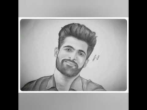 Realistic pencil sketch portrait | by Abhijith Padubidri