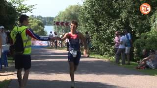 Соревнования по триатлону на кубок Главы района прошли в Бережках