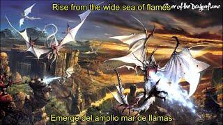 Rhapsody - Rise From The Sea Of Flames (Lyrics & Sub. Español)