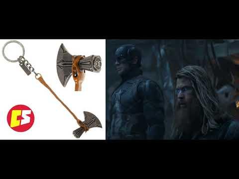 Llavero Stormbreaker de Thor utilizado en Avengers Endgame Bioworld