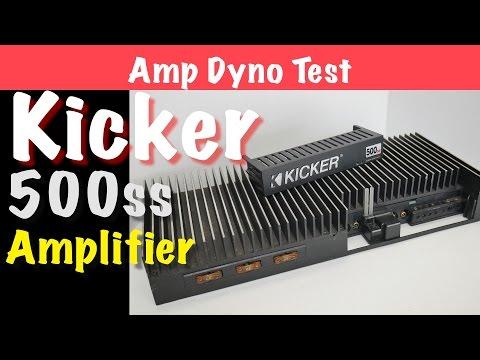 1996 Kicker 500ss Amp Dyno Test