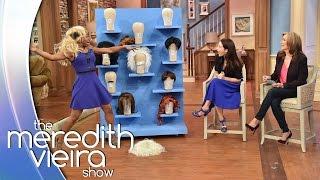 'Big Wig Surprise' With Kristin Davis!    The Meredith Vieira Show
