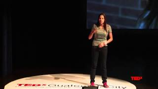 It is easy to talk about poverty... Hard to live it. | Ashley Williams | TEDxGuatemalaCity